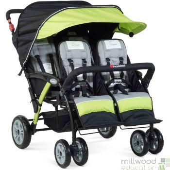 Quad Stroller Lime