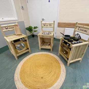 Rustic Kitchen Set