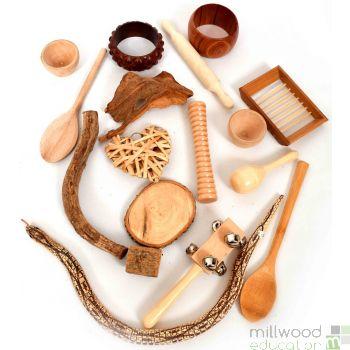 Wooden Treasure Bag