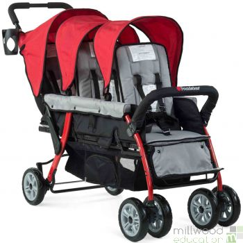 Trio Stroller Red