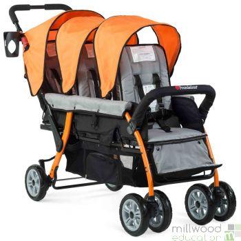 Trio Stroller Orange