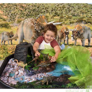 Prehistoric Life Tuff Tray Set