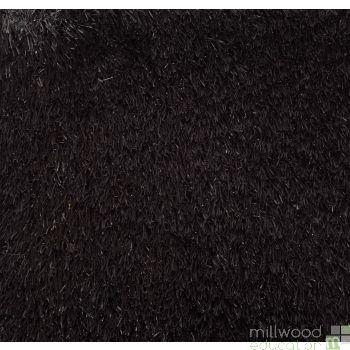 Grass Rug Black