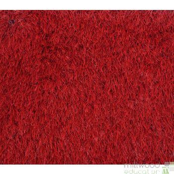 Grass Rug - Red
