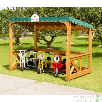 Outdoor Parking Shelter