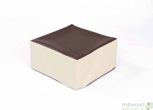 Beige and Chocolate Toddler Table