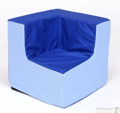 Pre-School Blue/Blue Corner Chair