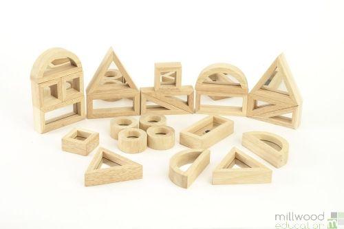 Standard Mirror Blocks (Set of 24)