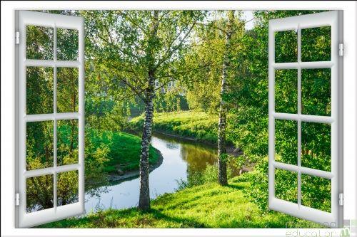 Windows to the World – River (Medium)