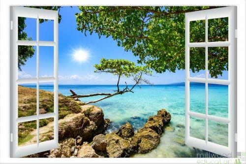 Windows to the World – Tropical (Medium)