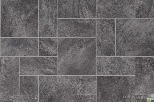 Role Play Flooring Mat Black Marble Tiles