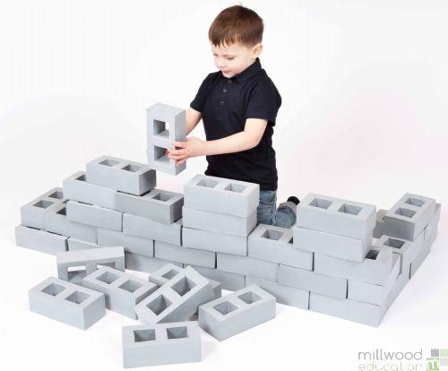 Foam Breeze Blocks (Set of 40)