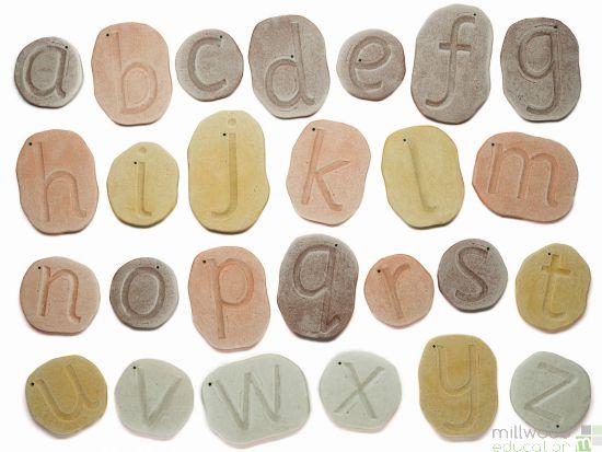 Feels-Write Lowercase Letter Stones