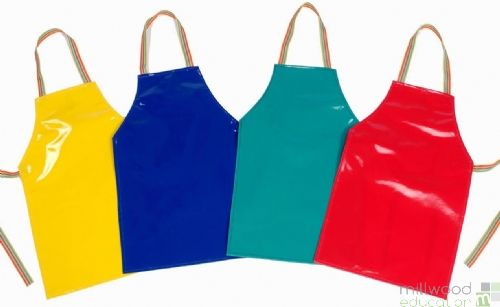 PVC Plain Aprons Medium