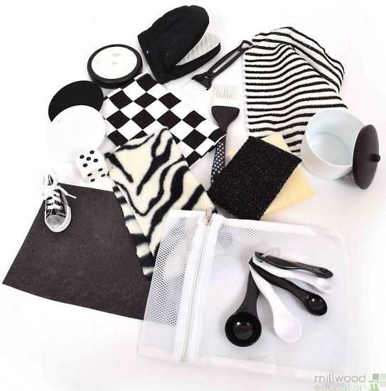 Black and White Treasure Bag