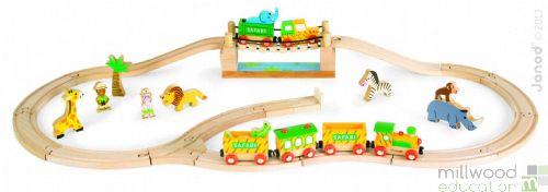 Safari Train Set