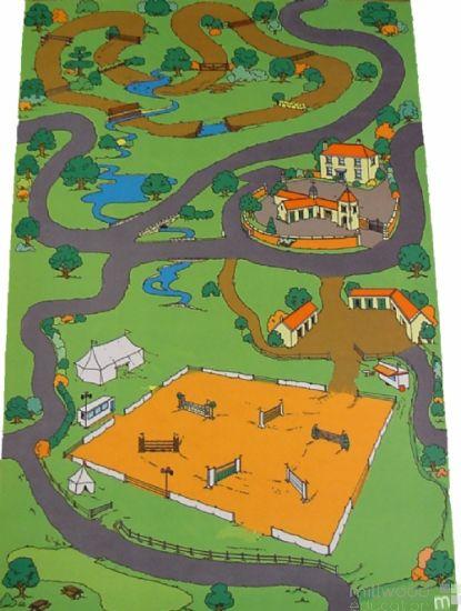 Equestrian Playmat