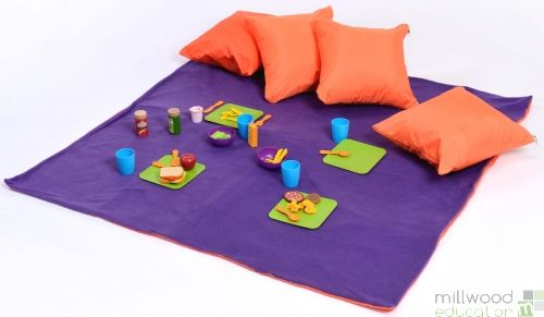 Picnic Set Orange