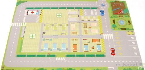 Hospital Playmat