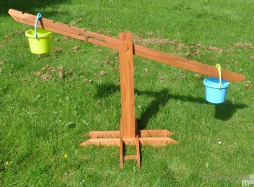 Outdoor Wooden Giant Scale