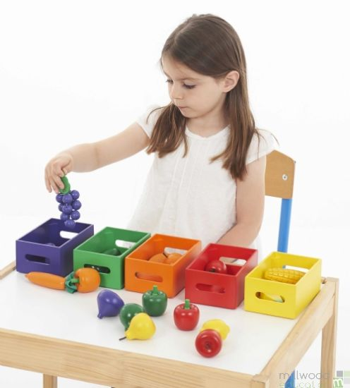 Fruit and Vegetable Sorting Set