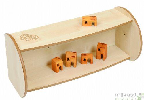 Mini Shelf Unit with Dry Wipe Board
