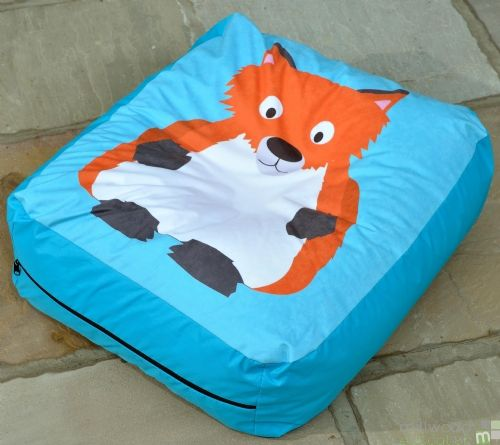 Woodland Bead Cushion FOX