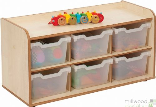 Mini and Toddle 3x2 Clear Trays