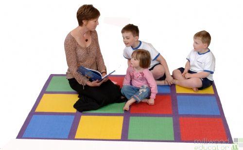 Circle Time Carpet Med S