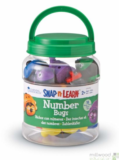 Number Bugs (Set of 6)