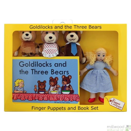 Traditional Story Set Goldilocks and the Three Bears