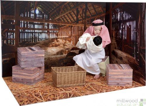 Nativity Scene Play Set