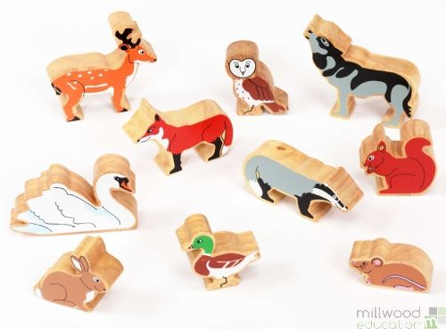 Wooden Animal Sets Woodland