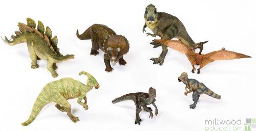 Plastic Dinosaurs