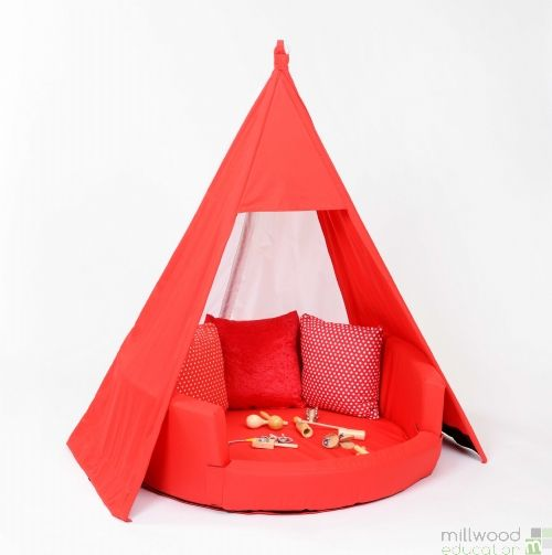 Teepee - Red Cotton