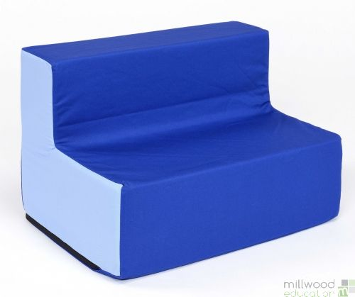 Toddler Sofa Blue/Blue