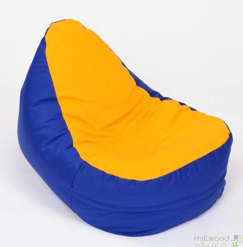 Shaped Bean bag - Yellow Seat