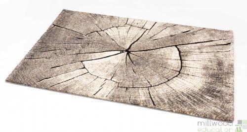 Natural Rug - Wood Large