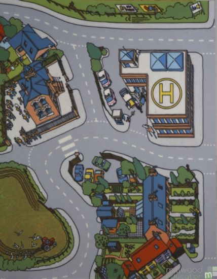 Village Centre Playmat