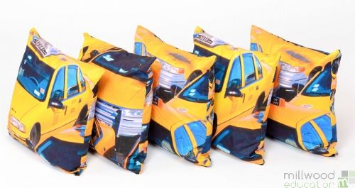 Cushions - Yellow Cabs