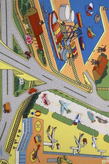 Transport Terminal Playmat