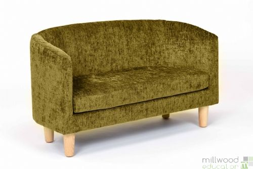 Tub Sofa Lime Chenille