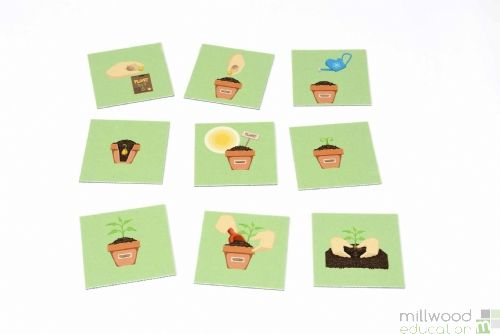 Sequencing Tiles (Growing Plant)