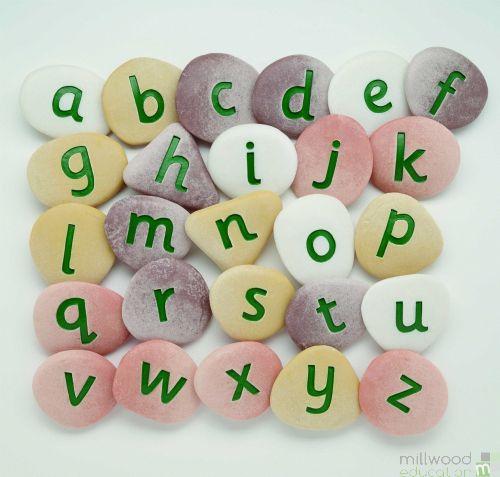 Jumbo Alphabet Pebbles