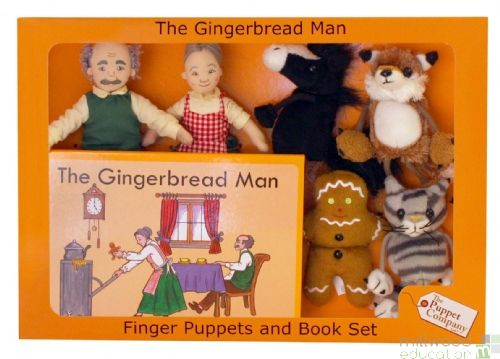 Traditional Story Set The Gingerbread Man