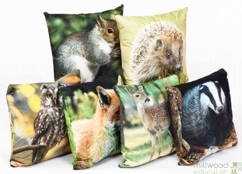 Cushions - Woodland Life