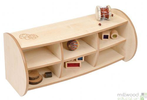 Mini 2 Shelf Unit with Dividers