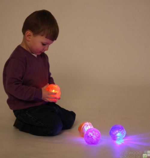 Sensory Flashing Ball Set