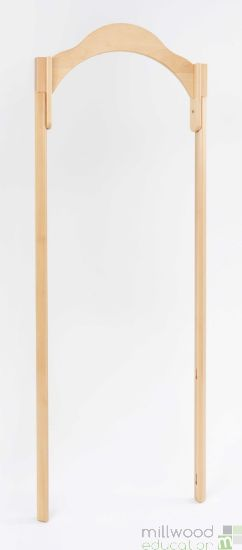 RS Wide Entrance 60cm with 45 ° Tall Posts