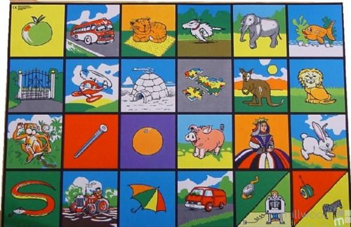 Alphabet Picture Playmat